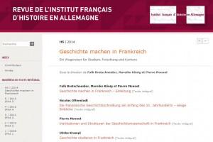 Geschichte machen in Frankreich_Screenshot