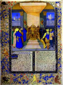 Jean_Fouquet-_The_Coronation_of_Alexander,_from_the_book_Histoire_Ancienne